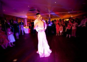 Bride and Grooms first dance at Ivy Hill Hotel