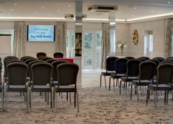 Conference in the Margaretting Suite Theatre Style