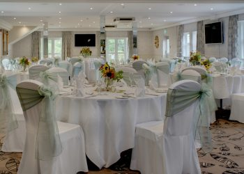 Margaretting Suite wedding with a green theme at Ivy Hill Hotel