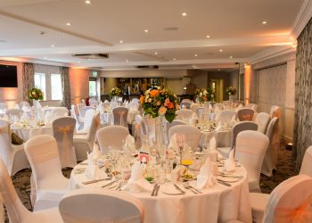 Margaretting Suite wedding with an orange theme at Ivy Hill Hotel