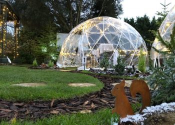 Festive Igloo Dome at Ivy Hill Hotel